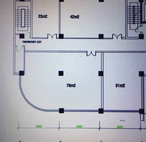 ホーチミン1区にて42平米の事務所(ホーチミンの賃貸不動産屋)