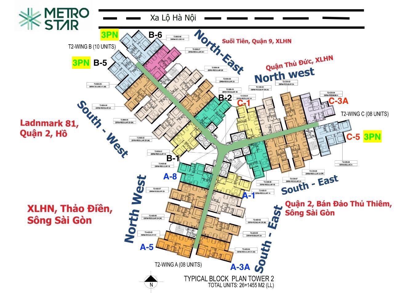 9区の駅直結物件メトロスター(Metro Star)アパートメントご予約