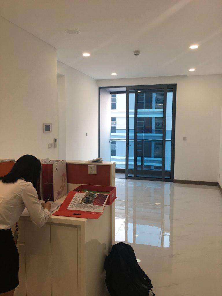 ベトナム不動産外国人枠 購入後の引渡し(サンワパールアパートメント)